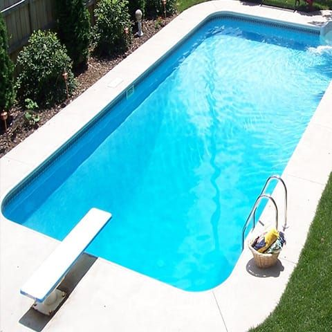 12 X 20 Rectangle In Ground Swimming Pool Kit Swimming Pool Kits Rectangle Pool Swimming Pools Inground