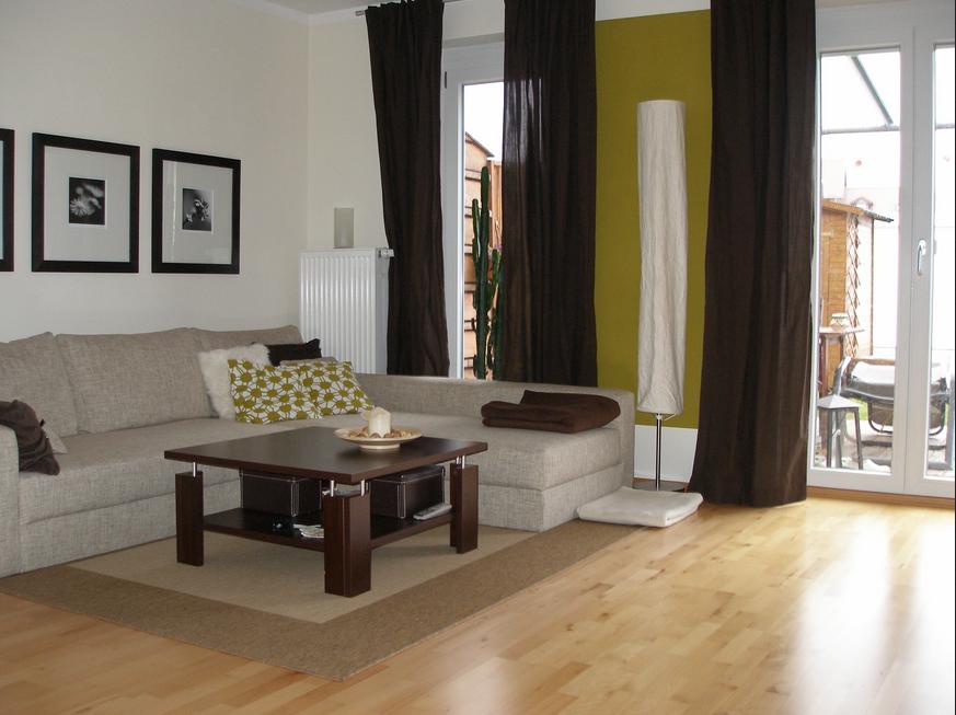 Wohnzimmer Braun Beige Zimmer Mit Hellen Atmosphäre