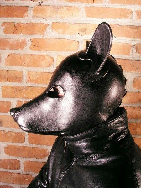 Black Doggy Mask