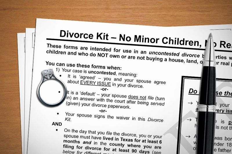Texas Supreme Court Advisory Committee to Consider Divorce