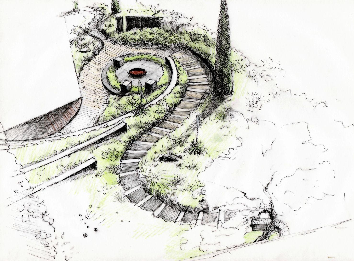 dessin d u0027ambiance jardin dessin jardin pinterest ambiance
