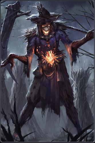 Resultado de imagem para scarecrow supernatural   Rysunki ...
