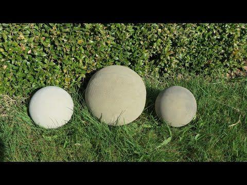 Deko Für Garten Selber Machen . Kugel Ca Ø 250 Mm Aus Beton .   YouTube