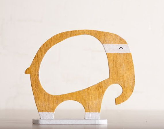 Wooden photo frame in a gift box Elephant Home Decor by JuliaWine, $18.00