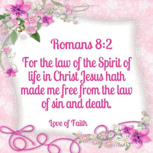Romans 8:2 KJV