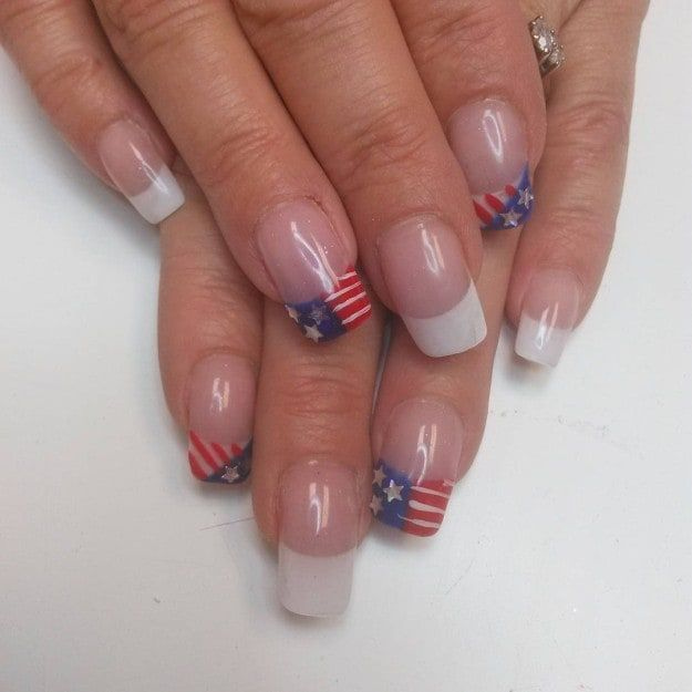 17 Design Ideas For Long And Short Square Nails   Pinterest   Short ...