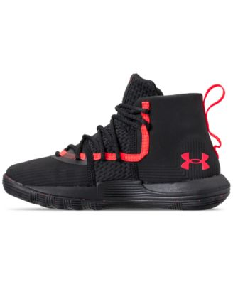 7a6f955343e1 Under Armour Little Boys  Curry 3Zero Ii Basketball Sneakers from Finish  Line - Black 11