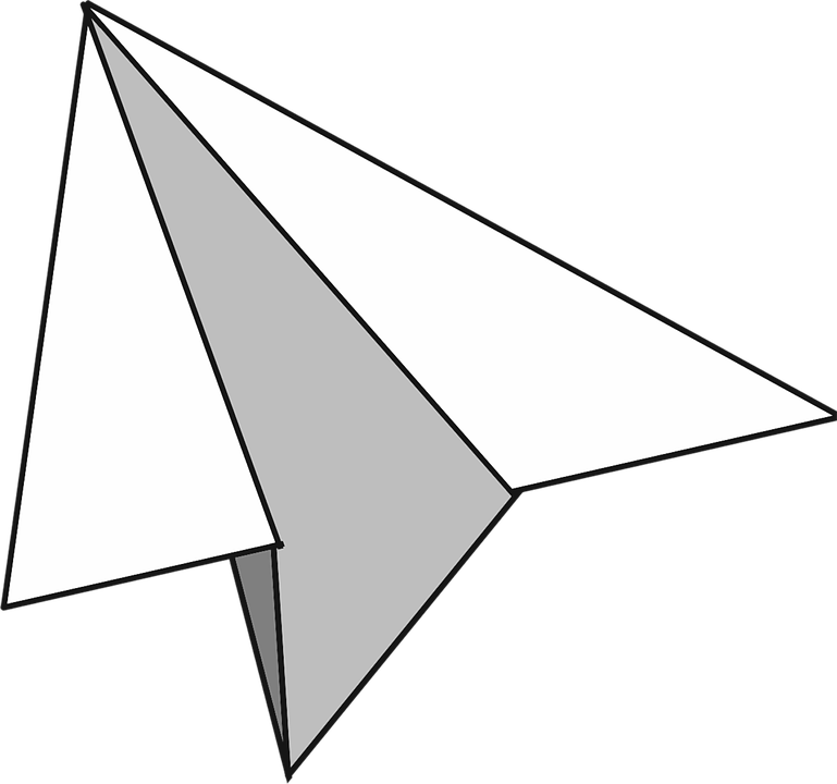 White Paper Plane Paper Plane Paper Paper Dart