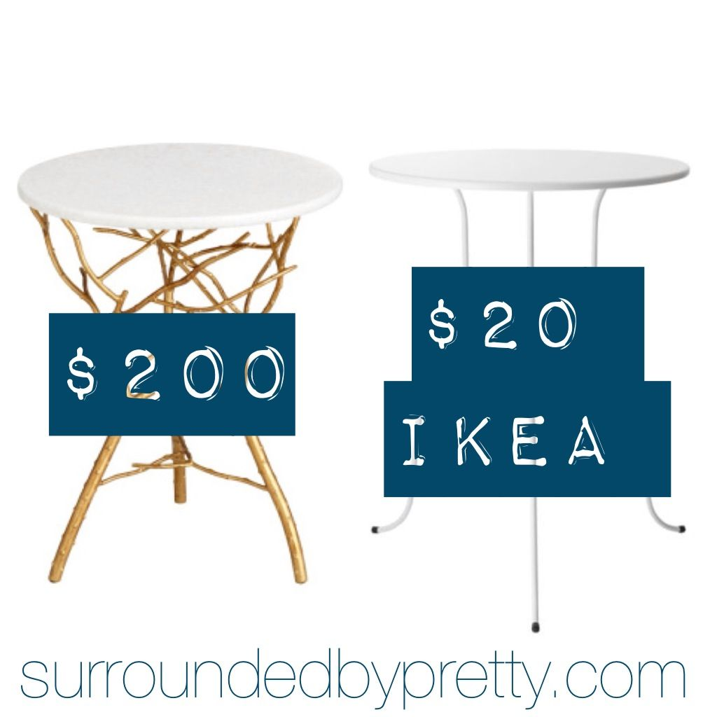 A DIY Success story using the $20 LINDVED end table from Ikea.