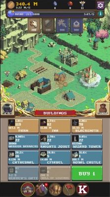 Realm Grinder is a Free-to-play Android, idle Role-Playing