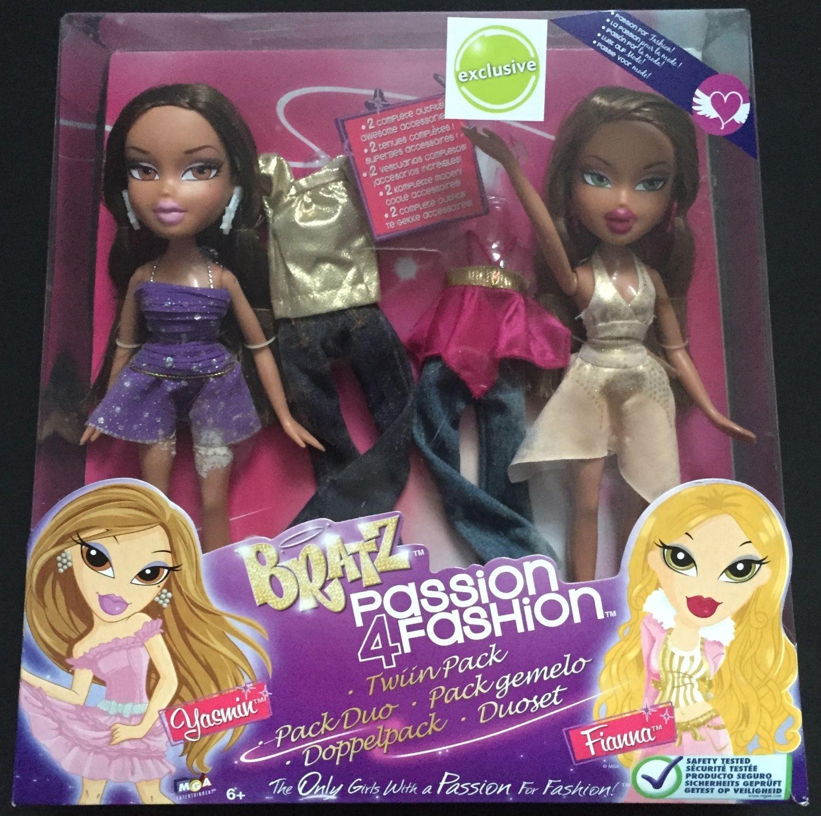 Bratz Passion 4 Fashion Yasmin & Fianna Twin Pack New ...