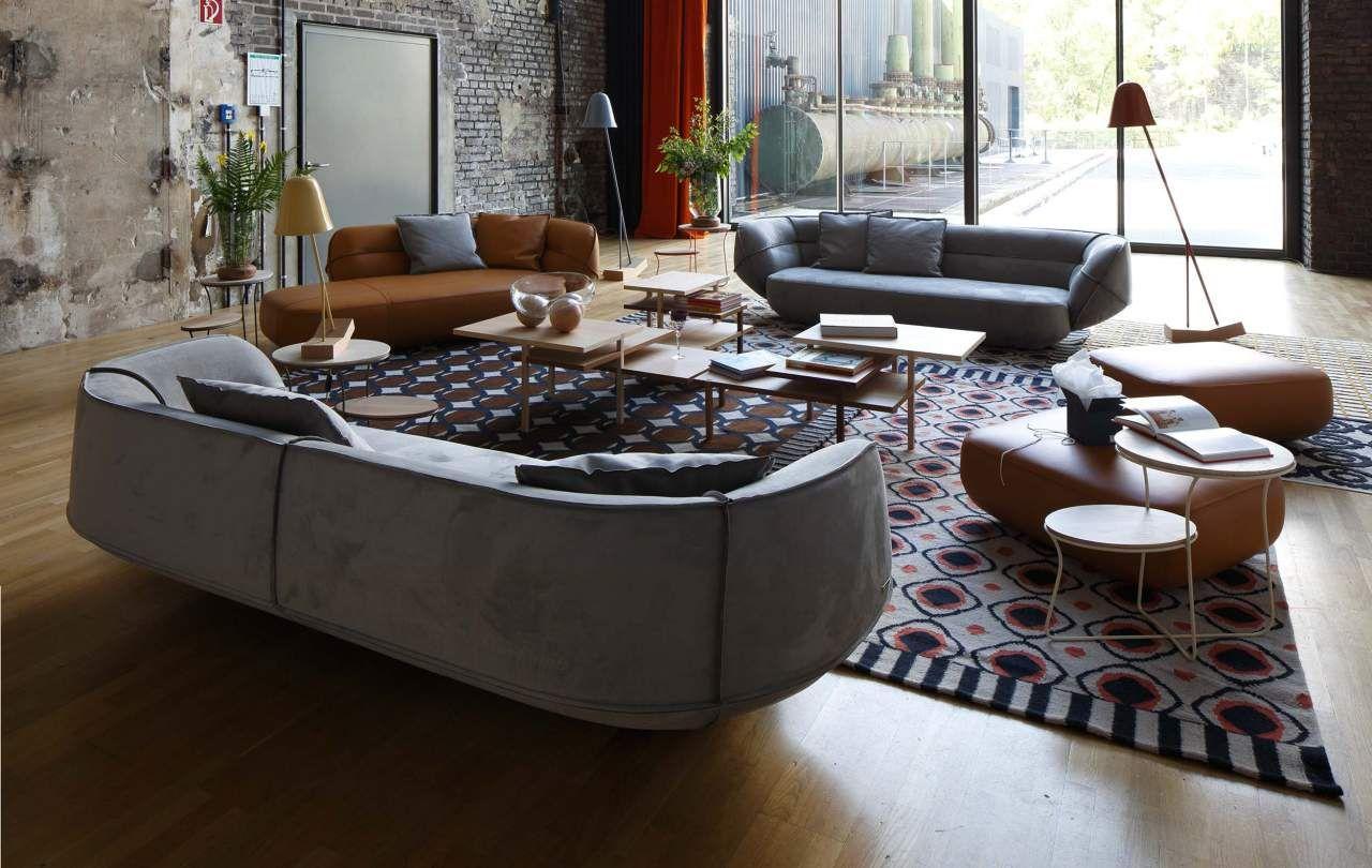 Living Room Inspiration 120 Modern Sofas By Roche Bobois: Contemporary Sofa, Modern