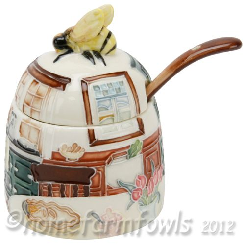 Honey Bee Kitchen Decor | Old Tupton Wear Aga/country Kitchen Honey Pot