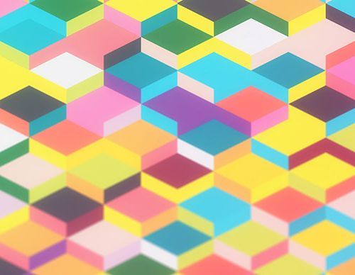 Create a Wallpaper with Vector Geometric Blurred Shapes in