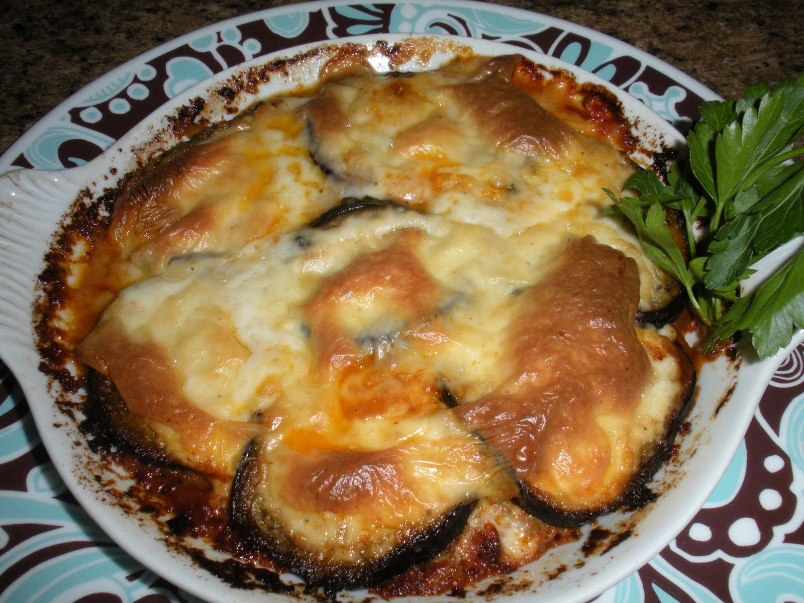 Egyptian moussaka recipe ill low carb this by subbing for Ancient egypt cuisine