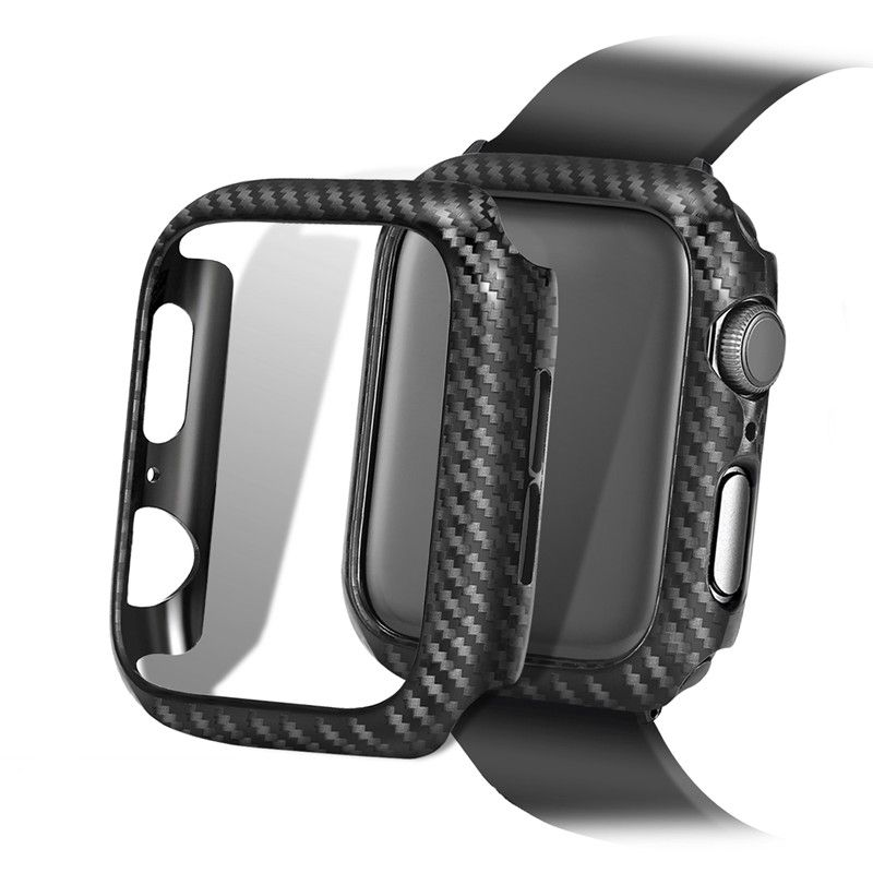 Bakeey Carbon Fiber Watch Bumper Watch Cover For Apple Watch Series 1 2 3 4 Apple Watch Bands Sports Apple Watch Case Apple Watch