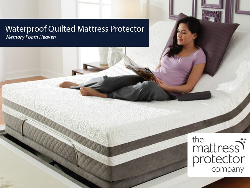 Our Waterproof Quilted Mattress Protector Is Made Using Polyurethane To Keep You Dry And To Provide You Comfortabl Mattress Protector Waterproof Quilt Mattress