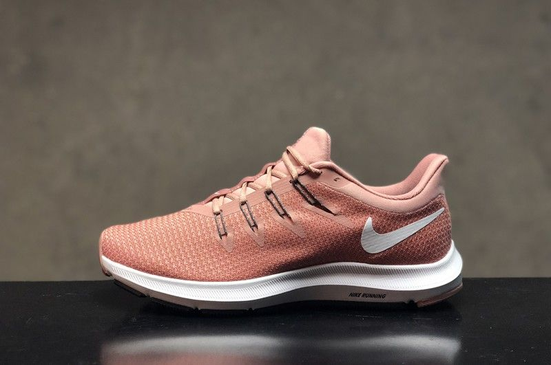 98a34c88d5e35b Best Sell Nike Quest Women s Orange Pink Resistant Breathable Lightweight  Sneakers AA7412-600