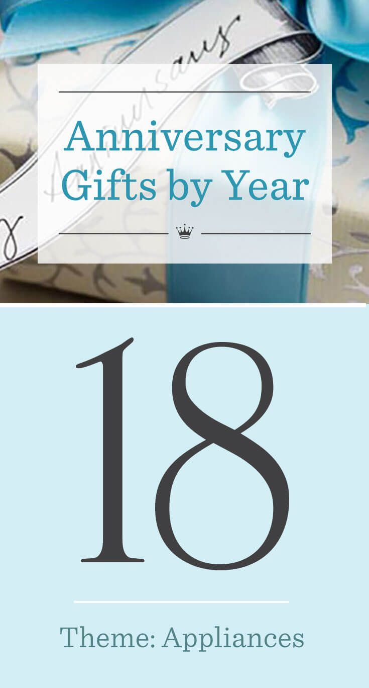 18th Wedding Anniversary Gift Ideas Thriving Thirties