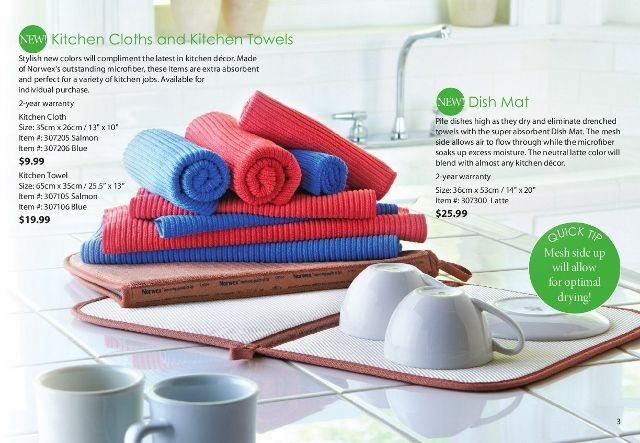New Norwex Kitchen Cloths And Towels Love The Bright Colors I Absolutely Love These New Towels Norwex Kitchen Towels Towel