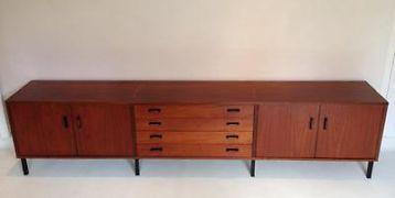 Retro Vintage Jaren 60 70 Teak Dressoir Sideboard Pastoe