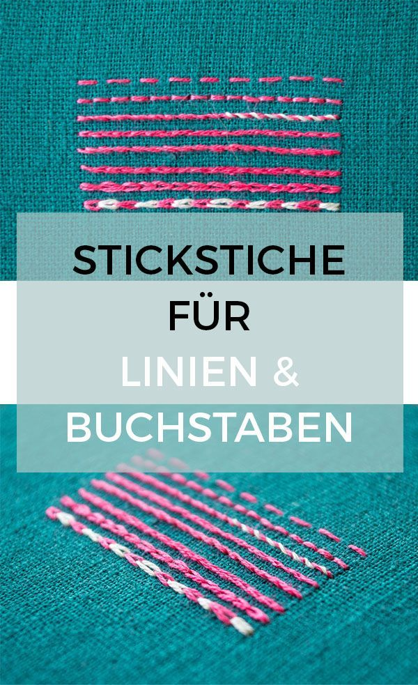 Photo of 8 Stickstiche für Linien – Pumora