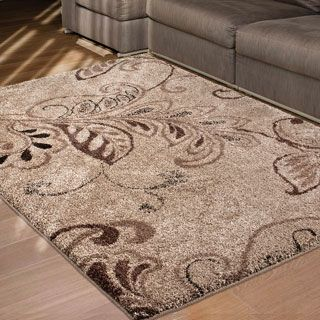 For Carolina Weavers Grand Comfort Collection Oatmeal Beige Area Rug 5 3 X