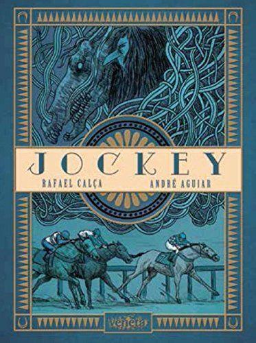 """Livro """"Jockey"""", de André Aguiar e Rafael Calça"""
