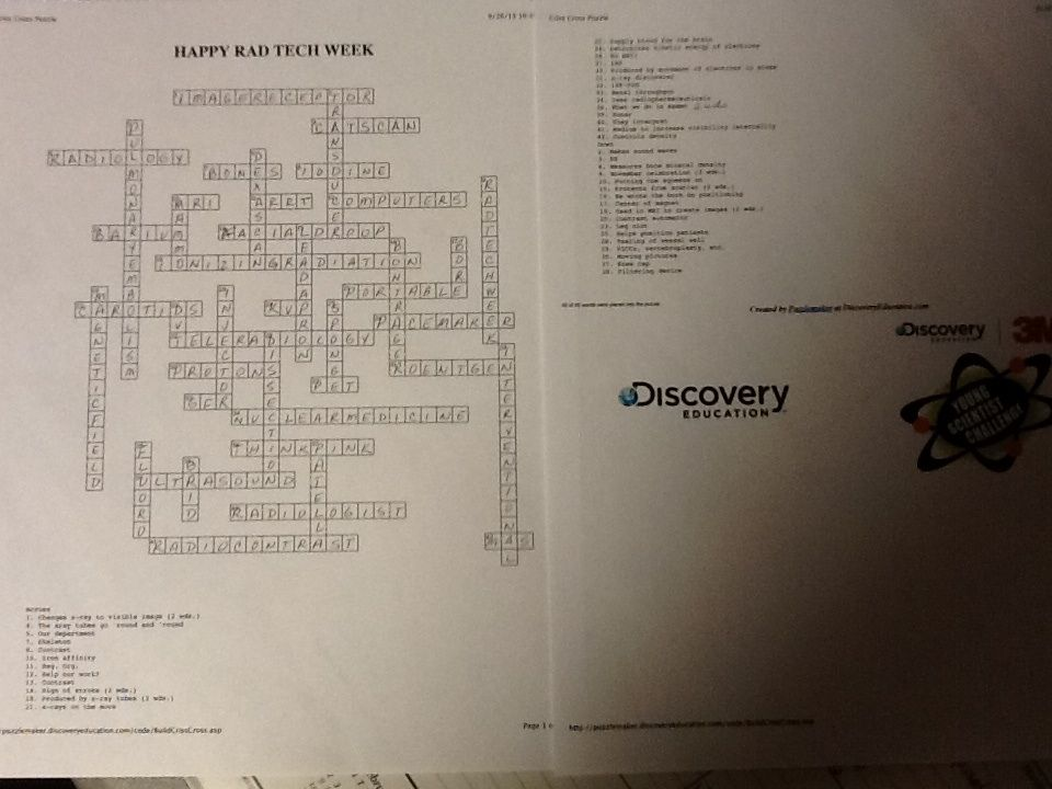 Challenge your coworkers to an Xray inspired crossword