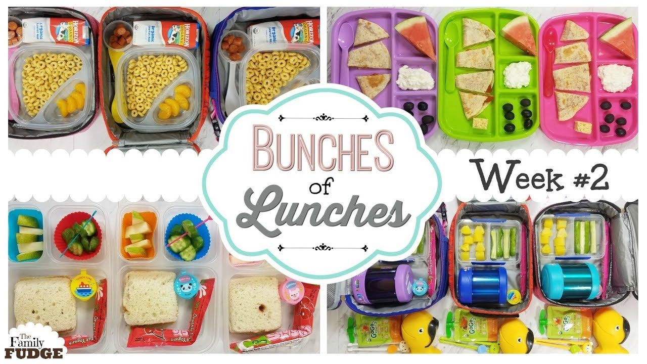 12f16b8ed34a School Lunch Ideas || Bunches of Lunches Week 2 || The Family Fudge ...