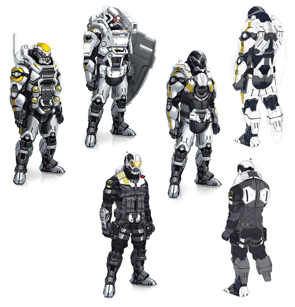 Cerberus Soldiers Mass Effect 3 Characters Pinterest