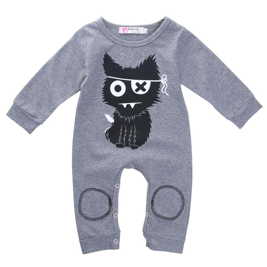 efe58cb96 Click to Buy    2016 Spring Newborn Baby Boy Girls Long Sleeve ...