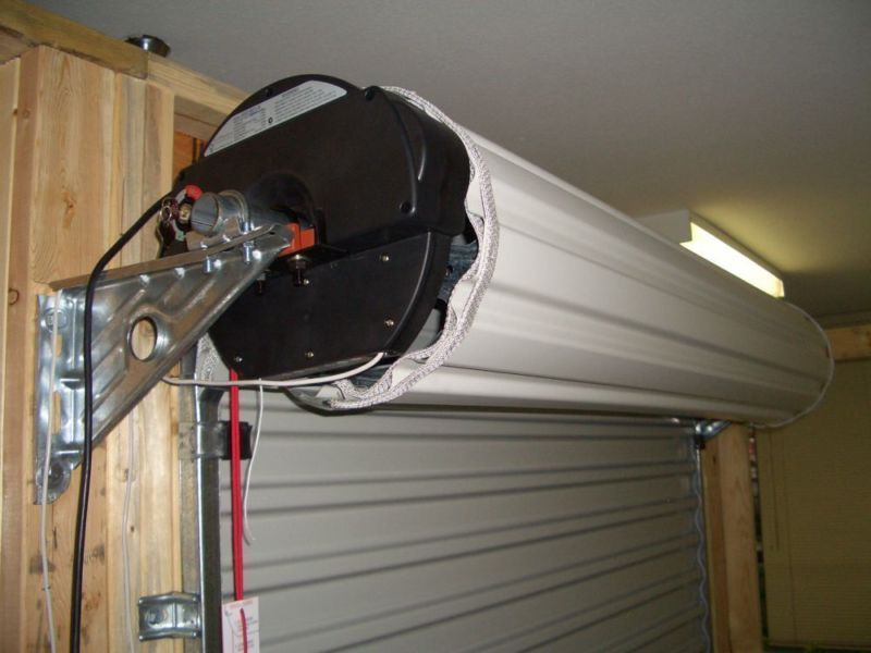 Motorized Roll Up Garage Door Screen Kit   Http://silvanaus.com/motorized  Roll Up Garage Door Screen Kit/ : #GarageDoors Roll Up Garage Door Screen  Adds ...