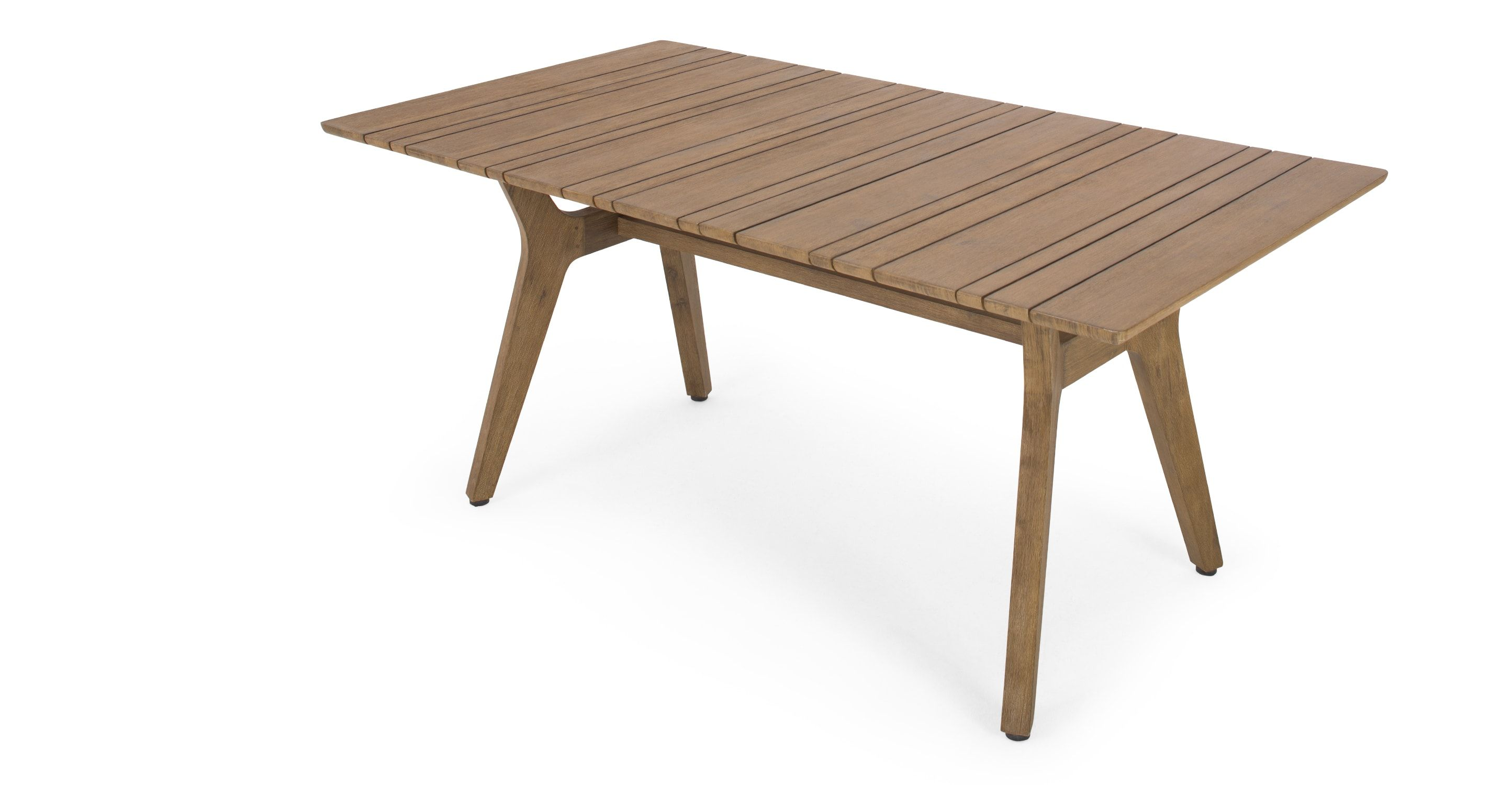 Aaron outdoor dining table acacia from made dark wood aaron outdoor dining table acacia from made dark wood express delivery we worked with designer tim fenby to create our new aaron range an i geotapseo Images