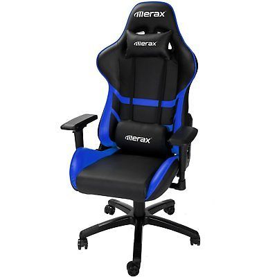 Merax High Back Computer Chair Ergonomic Design Racing Gaming Chair  Reclining