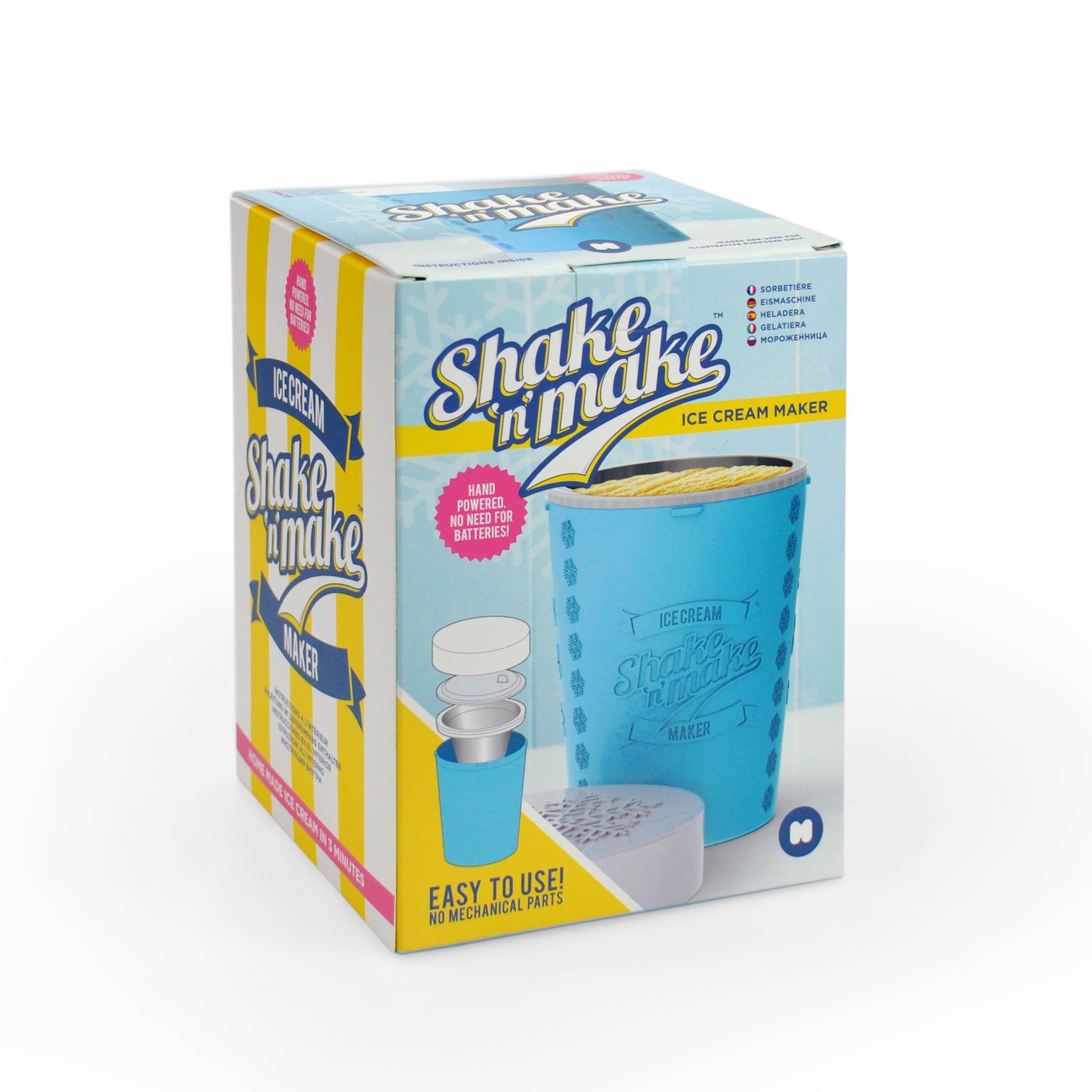 Shake n Make 3 min Ice Cream or Frozen Yoghurt Maker   Treasure ...