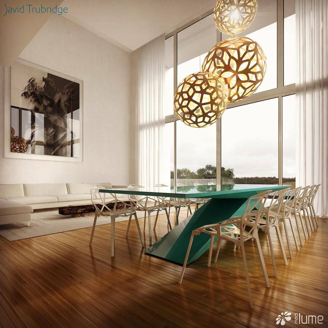 Perfect The Coral And Floral Pendant Lights Shown Here Are Made Of Bamboo Plywood  By David Trubridge Design Ideas