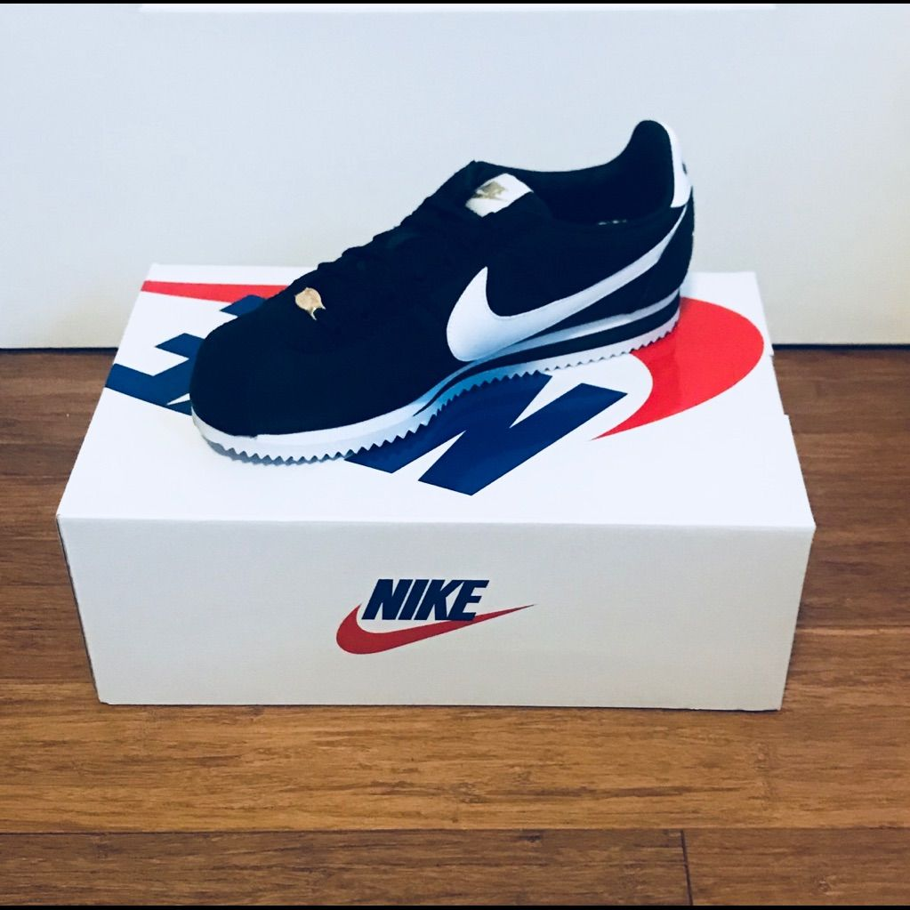 Nike Shoes | Womens Xlv Nike Cortez Sneakers | Color: Black
