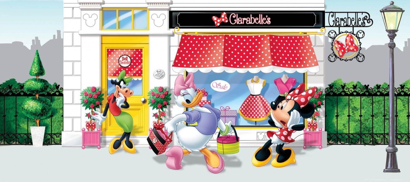 Best Wall Mural Wallpaper Disney Minnie Mouse Daisy Duck 400 x 300