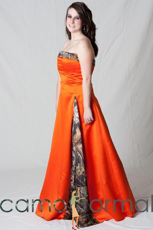 Camouflage Orange Dresses – fashion dresses