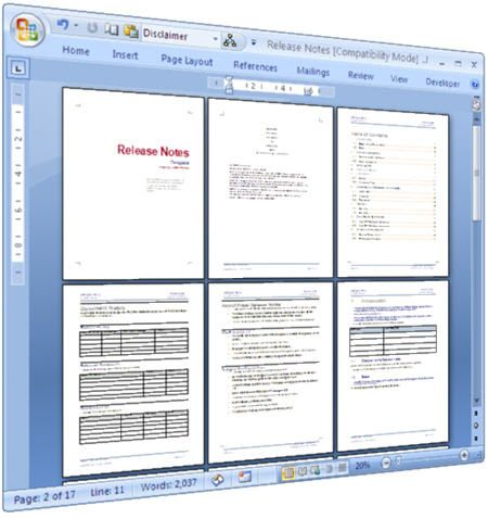 Release Notes Templates Software Development Templates - release notes template