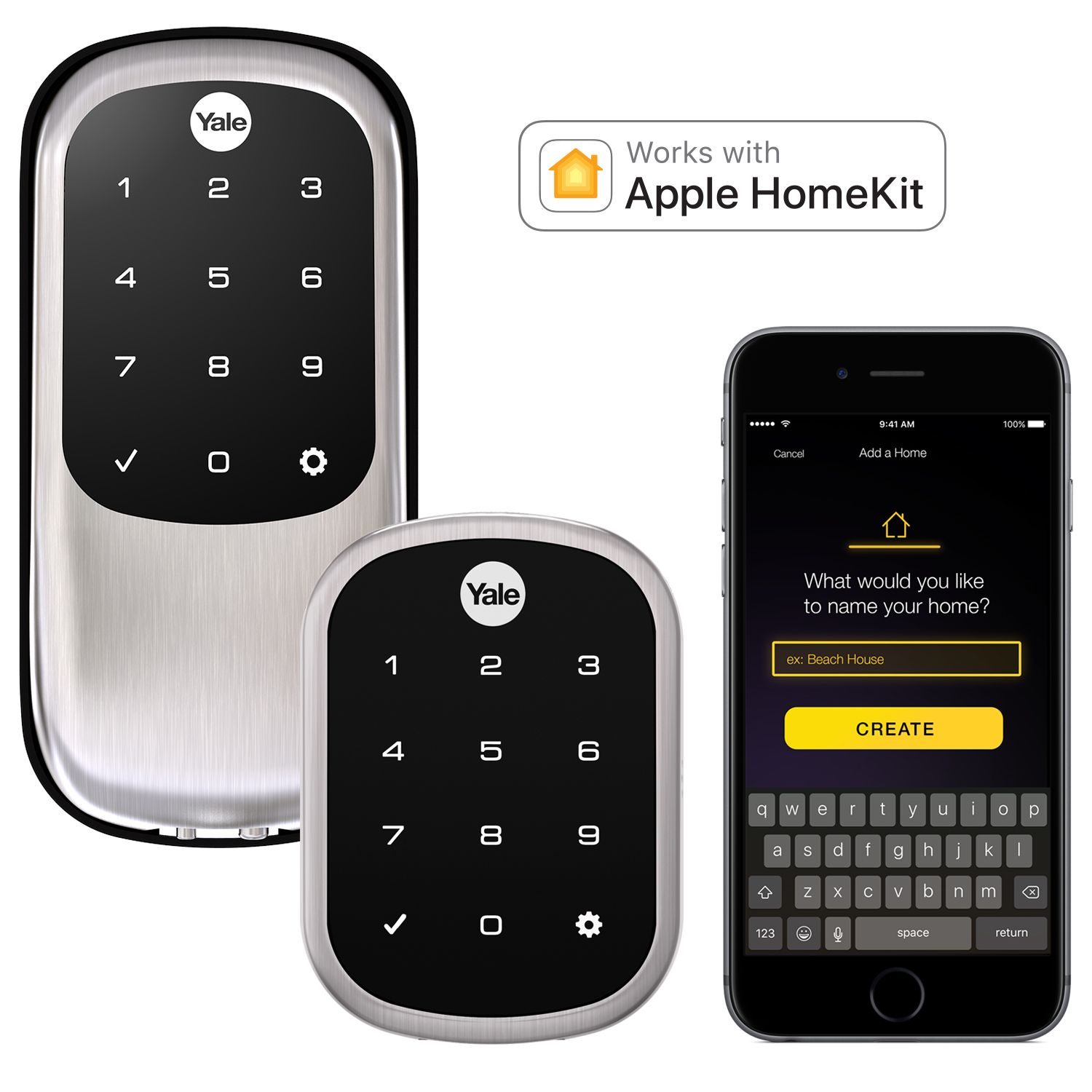 Lock And Unlock Your Door With Ease Using Your Iphone Ipad Or Ipod Touch Lock And Unlock With Siri Voice Commands Or Thro Kit Homes Blackberry Phone Ipad Ios