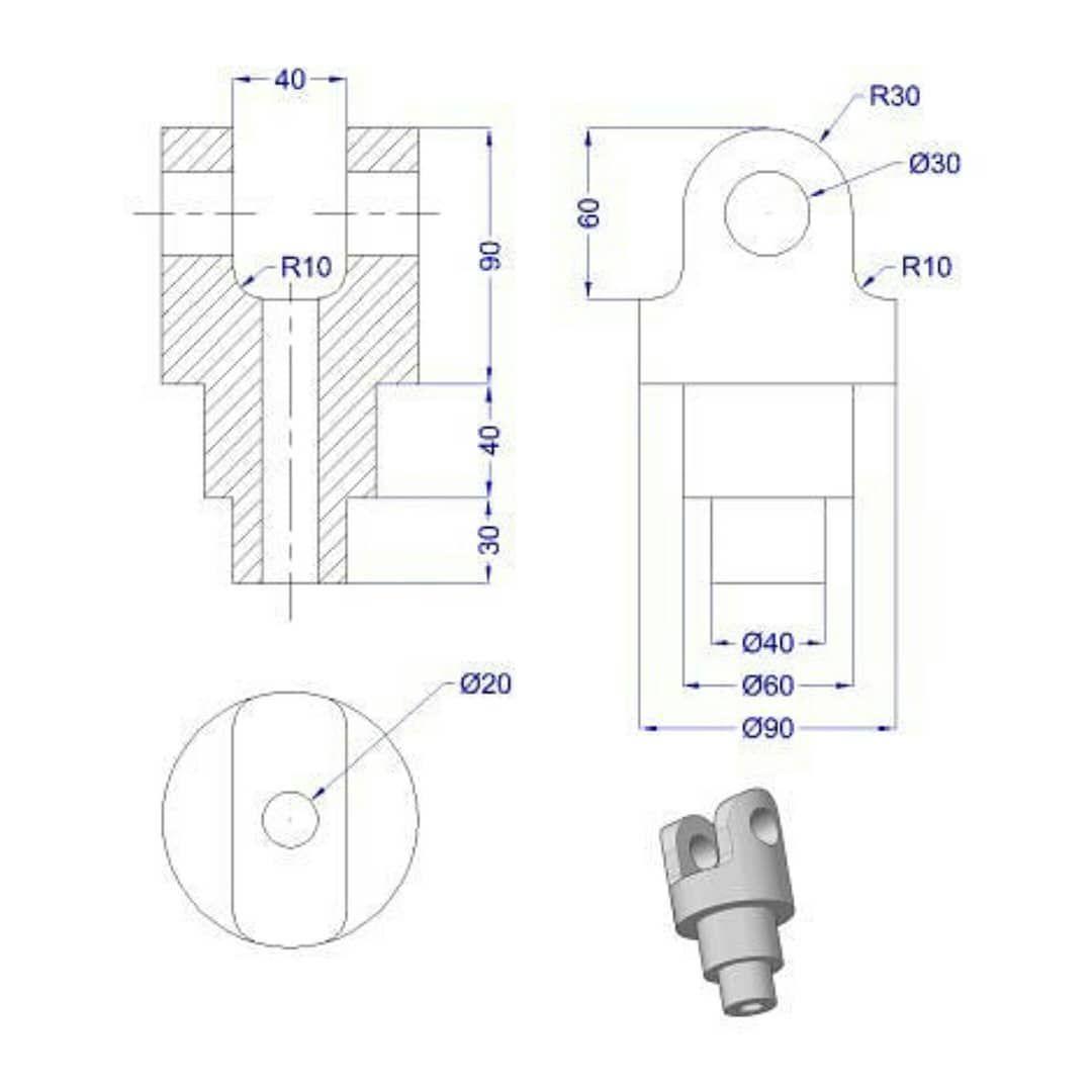Part Partdesign Creomodeling Creojob Creojob Creo3d Creomehanical In 2020 Autocad Drawing Solidworks Design