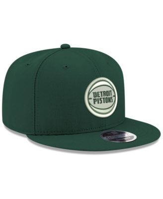cheap for discount ab717 c53ef New Era Detroit Pistons Fall Dubs 9FIFTY Snapback Cap - Green Adjustable