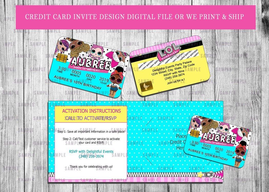 Credit Card Invitations Invitation Cards Invitations Cards