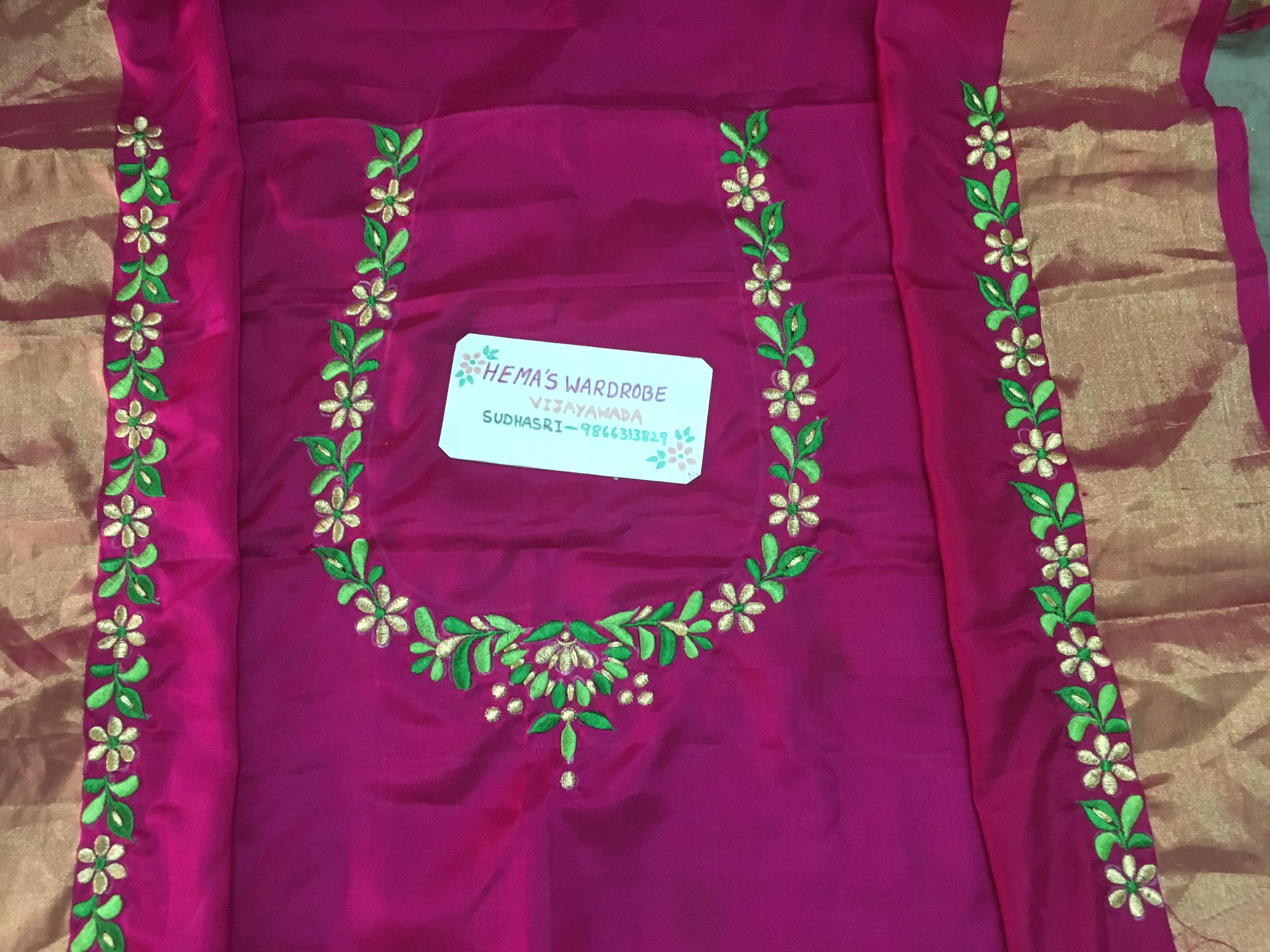 My Design Sudhasri Embroidery Blouse Designs Simple Blouse Designs Embroidered Blouse Designs,Design Your Own Phone Case Template