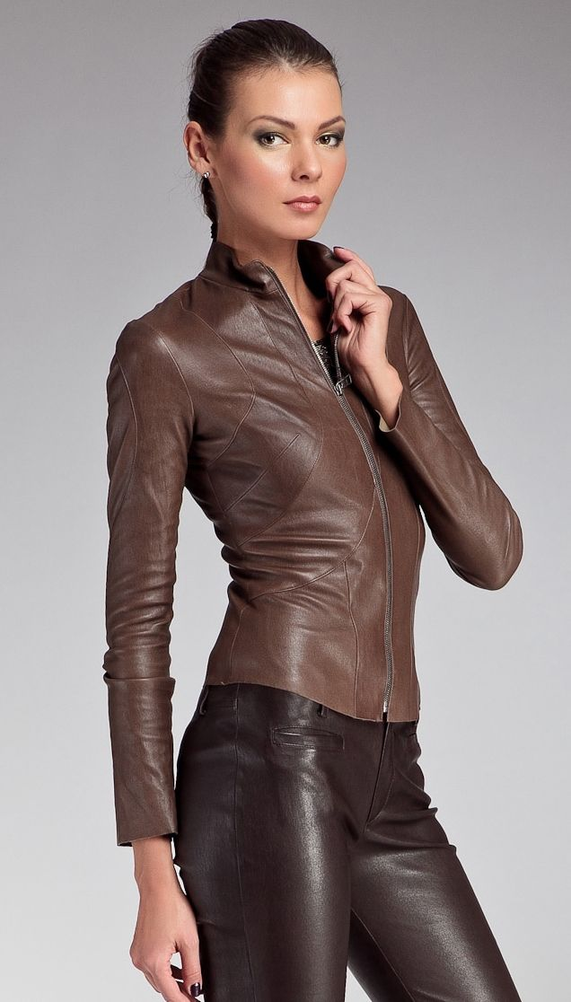 Perfect Home Leather Brown Leather Jackets For Women 21 Brown Leather Jackets