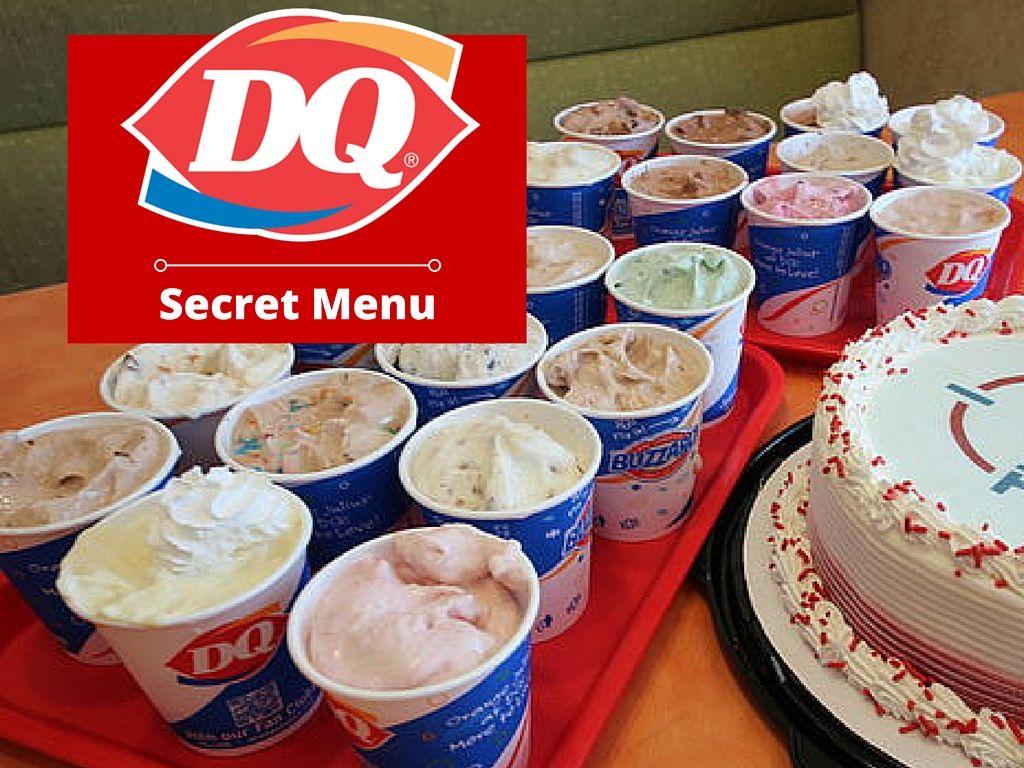 dairy queen menu ice cream cakes prices