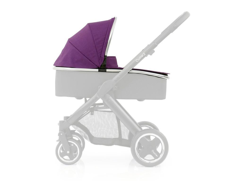 Oyster Pram Purple Babystyle Oyster Max Carrycot Colour Pack In Wild Purple