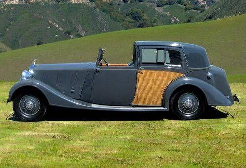 1937 Rolls Royce Phantom III Sedanca De Ville by Hooper via CarAndClassic
